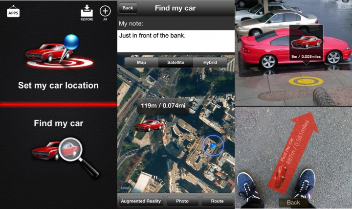 Imagen - 5 apps para saber dónde has aparcado el coche