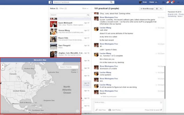 Imagen - Un hack permite seguir la localización de tus amigos de Facebook