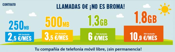 Imagen - Happy Móvil rebaja la tarifa Habla y Navega 1,3 Gb a 6 euros
