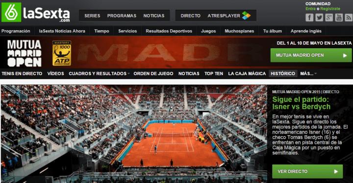 Mutua Madrid Open Pagina Oficial