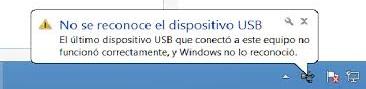 """Imagen - Una actualización de Windows provoca el error """"dispositivo USB no reconocido"""""""