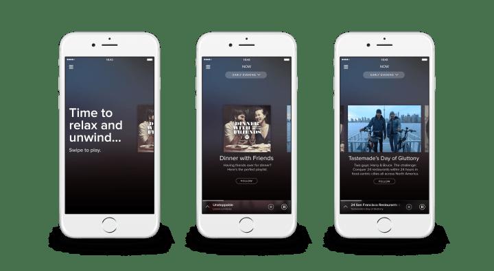 Spotify Running y Now, escucha música adecuada al running y al momento
