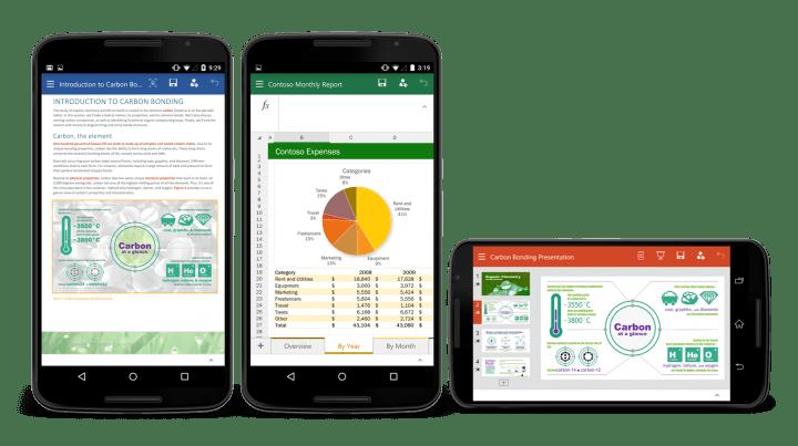 Descarga ya Office para móviles Android