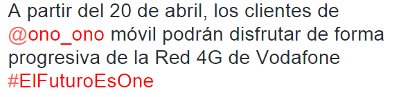 Imagen - Cómo tener 4G en ONO