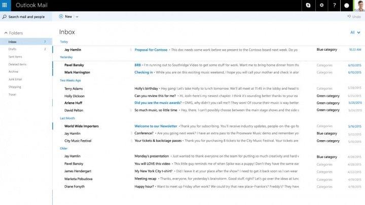 Imagen - Outlook.com se renueva completamente