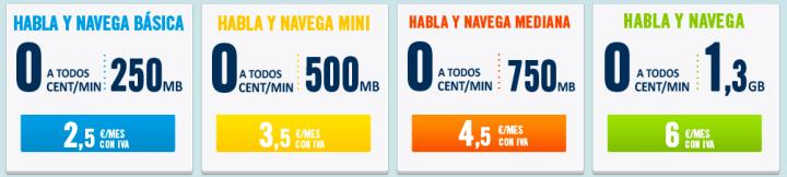 Imagen - Happy Móvil presenta la tarifa Habla y Navega Mediana por 4,5 euros