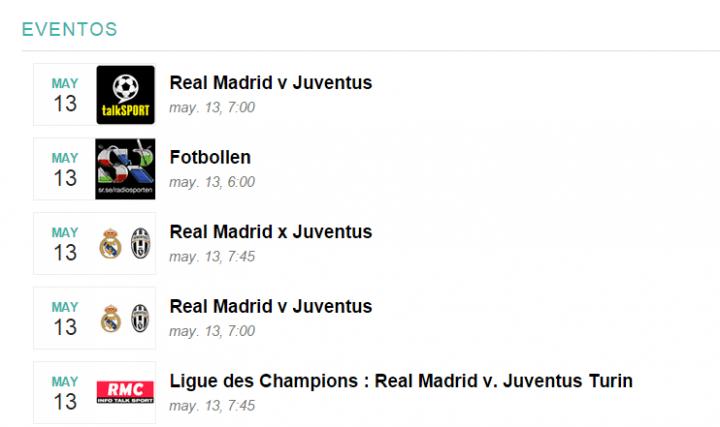 Imagen - Cómo ver Real Madrid-Juventus en directo