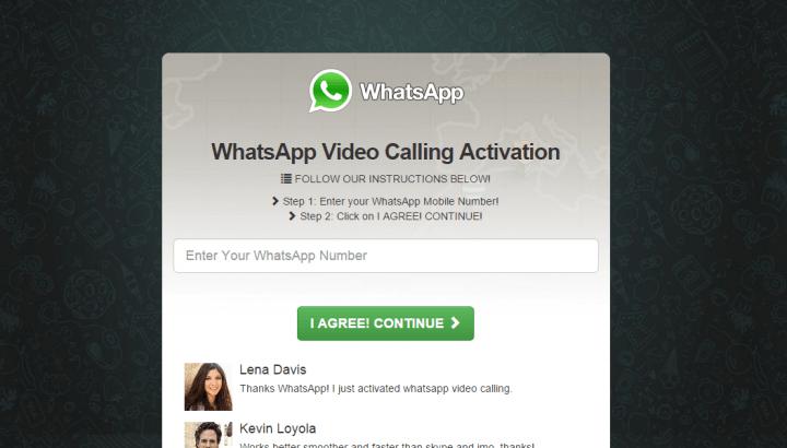 Imagen - Las videollamadas de WhatsApp, nueva estafa que activa SMS Premium