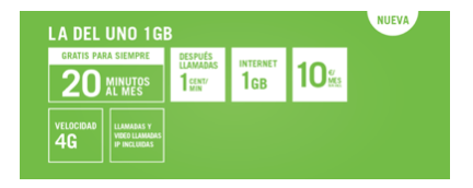 Imagen - Yoigo lanza la nueva tarifa La del Uno 1 GB