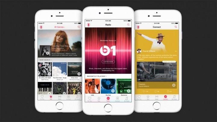 Apple Music aparece y Spotify duplica el número de usuarios Premium