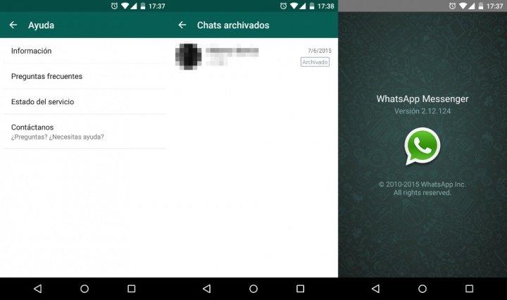 Imagen - Descarga WhatsApp 2.12.124 para Android con pequeños cambios