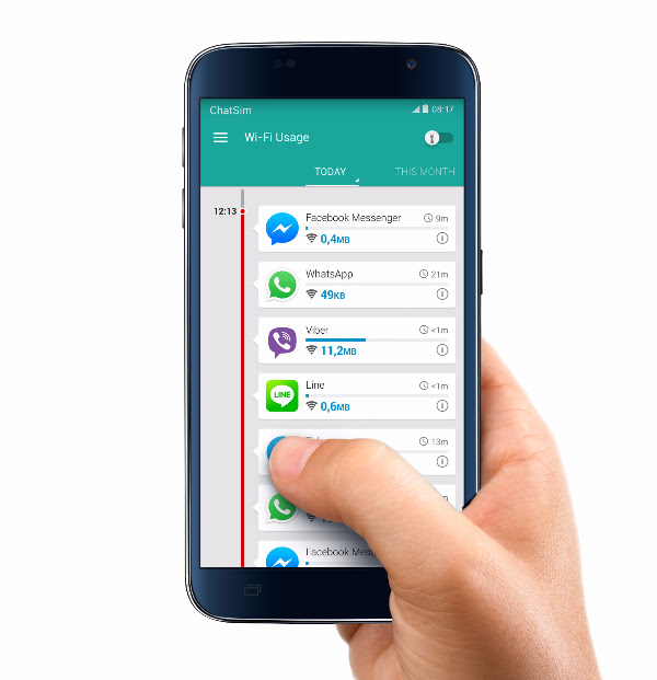Imagen - ChatSim, la tarjeta SIM para WhatsApp, integra Opera Max