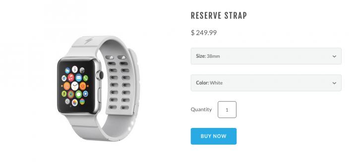 Imagen - Esta correa para el Apple Watch te da 30 horas más de batería
