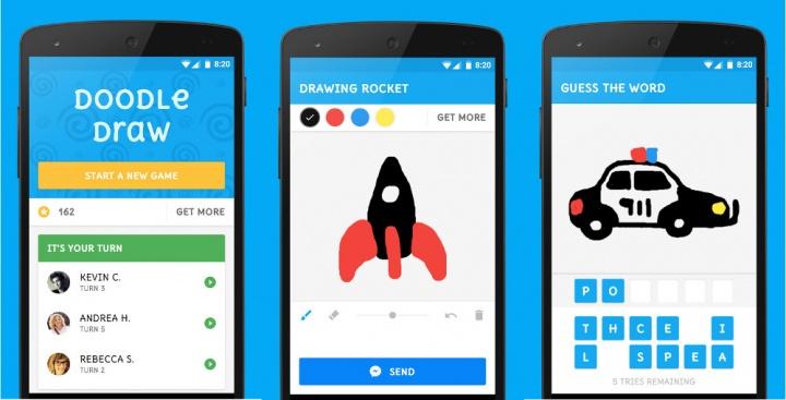 Imagen - Doodle Draw, el primer juego para Facebook Messenger