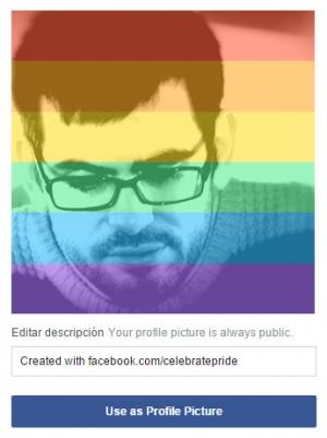 Imagen - Facebook lanza un filtro para celebrar el matrimonio gay #LoveWins