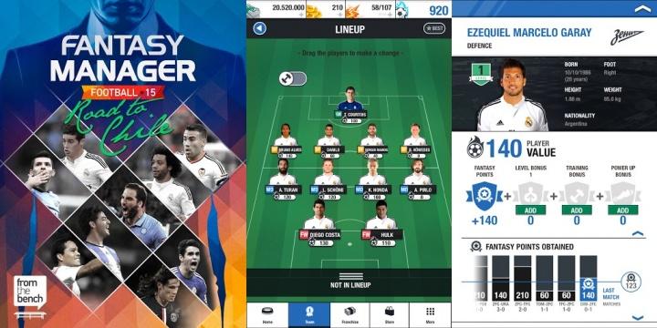 Imagen - Fantasy Manager Football: las estrellas del mundo se reunen en Chile