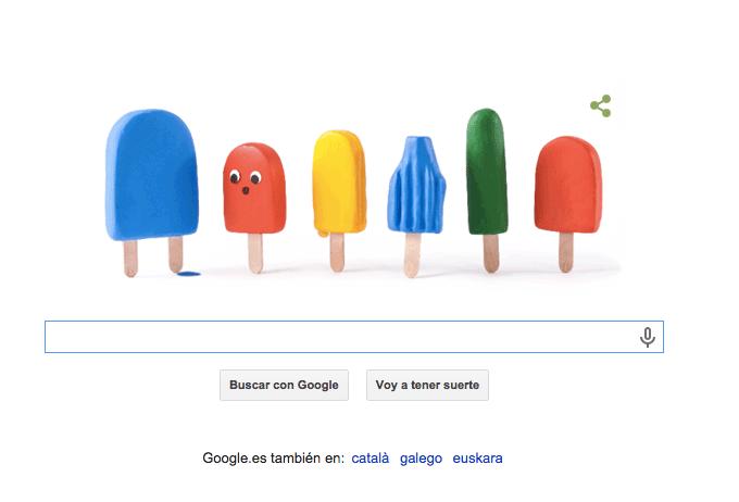 Imagen - Google celebra con un Doodle la llegada del verano