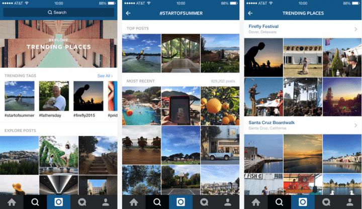 Imagen - Instagram renueva Explorar y Buscar