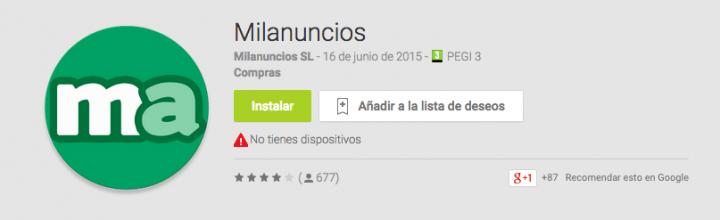 Imagen - Descarga Milanuncios para iOS y Android