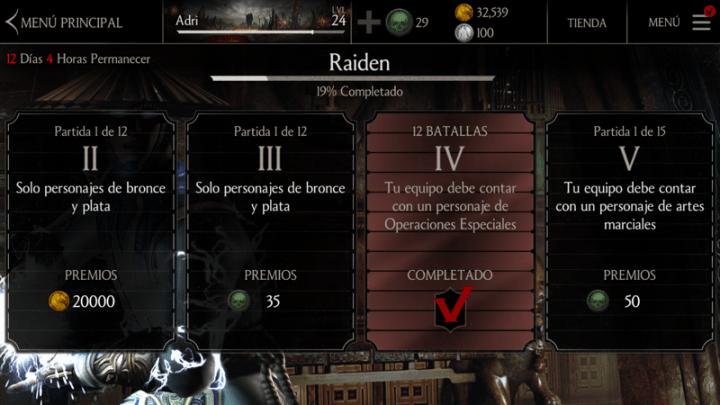 Imagen - Mortal Kombat X para móvil por fin dispone del desafío Raiden