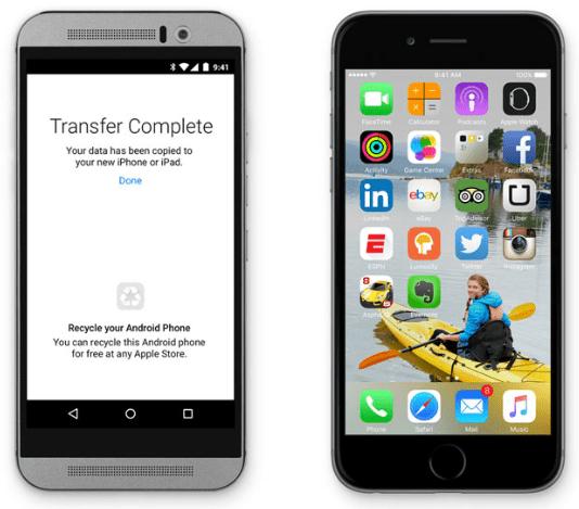 Imagen - Cómo migrar de Android a iOS con Move to iOS