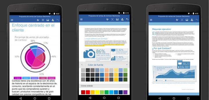 Imagen - Descarga Word, Excel y PowerPoint gratis para Android