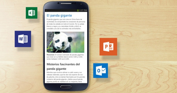 Descarga Word, Excel y PowerPoint gratis para Android