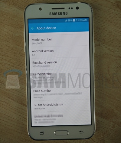 Imagen - Samsung Galaxy J5: especificaciones y fotos