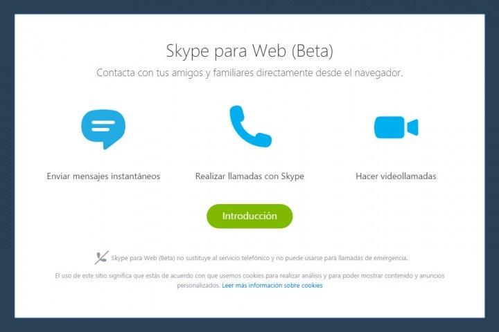 Imagen - Skype Web disponible en fase beta