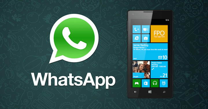 WhatsApp 2.12.222 ya disponible para Windows Phone y Windows 10