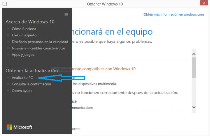 Imagen - Comprueba si Windows 10 es compatible con tu ordenador