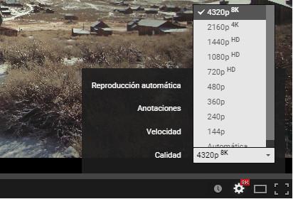 Imagen - YouTube ya permite reproducir vídeos en 8K