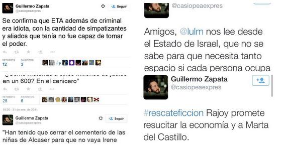 Imagen - Zapata obligado a dimitir por unos tweets del pasado