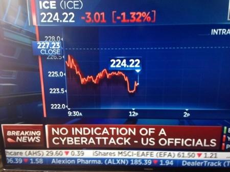 Imagen - La bolsa de Wall Street y United Airlines caídos por un fallo informático
