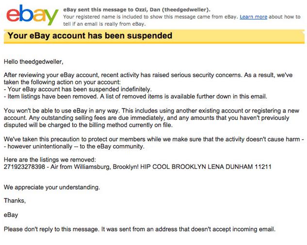 """Imagen - eBay elimina una subasta de una """"bolsa de aire hipster"""" por 20.000 dólares"""