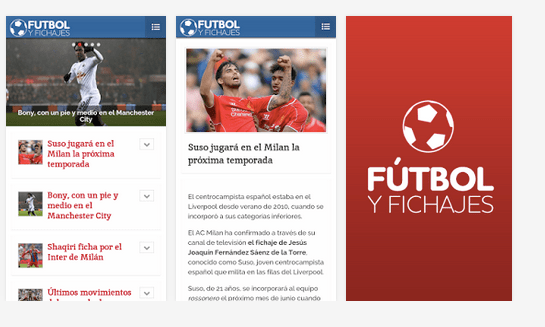 Imagen - Cómo seguir los fichajes de fútbol en Android