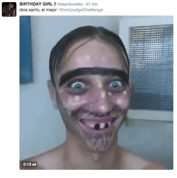 Imagen - El nuevo viral #DontJudgeChallenge, maquíllate y ponte feo