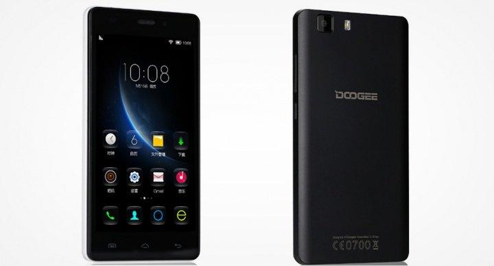 Doogee X5, el smartphone HD y 4G más barato del mundo
