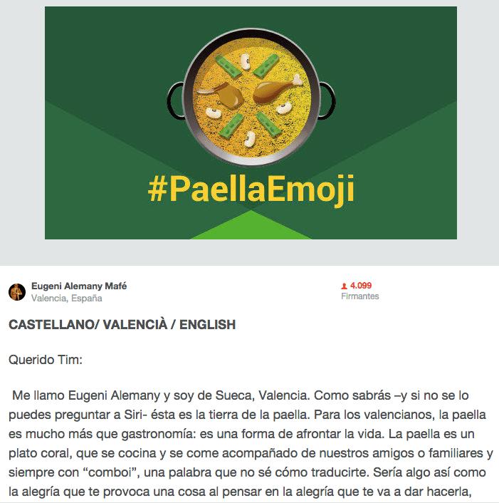 Imagen - El #paellaemoji llegará a WhatsApp