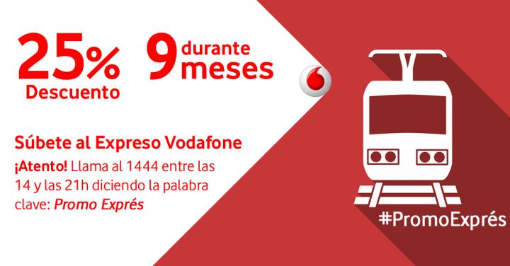 Imagen - Consigue un 25% de descuento durante 9 meses en Vodafone, ¡ya!