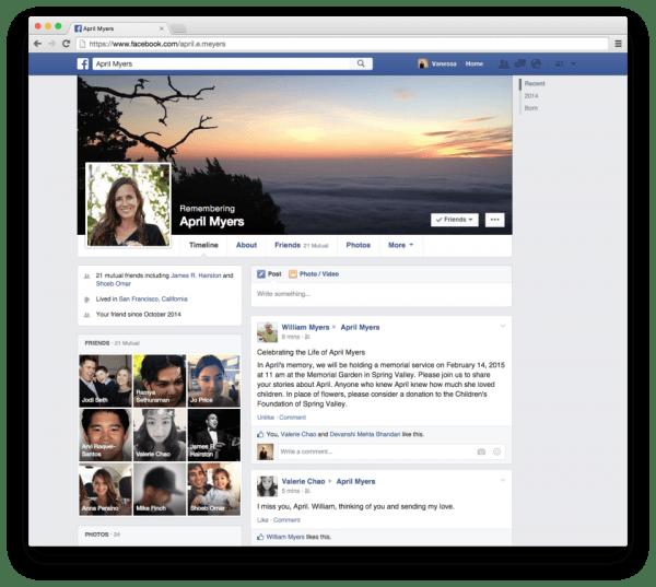 Imagen - Facebook ya permite que nombres a un heredero