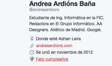 Imagen - Twitter ahora te permite mostrar tu fecha de nacimiento o cumpleaños