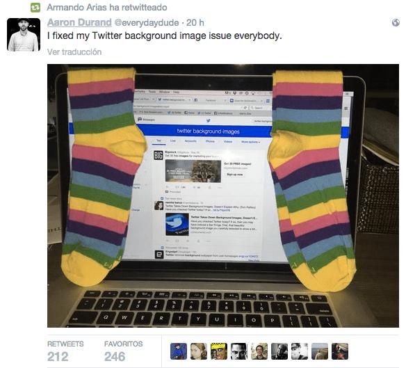 Imagen - Twitter elimina el fondo personalizado de los usuarios