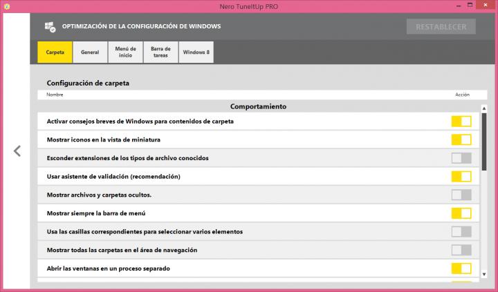 Imagen - Review: Nero TuneItUp, un sencillo y eficaz software de optimización