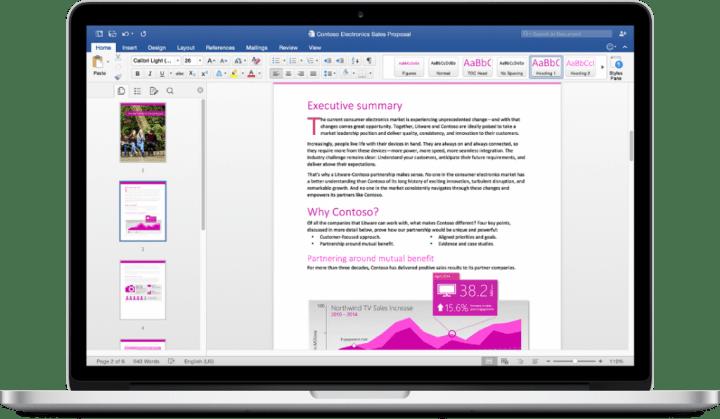 Imagen - Office 2016 para Mac ya disponible