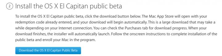 Imagen - iOS 9 y OS X El Capitán, disponibles para descargar las betas públicas