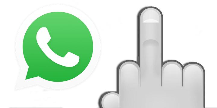 Descubre el nuevo emoji de WhatsApp: la peineta