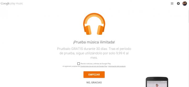 Imagen - Google Play Music All Access no funciona en Firefox, Internet Explorer o Safari