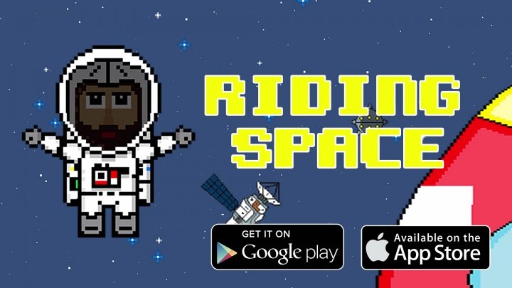 Descarga Riding Space para Android e iOS, una divertida aventura espacial