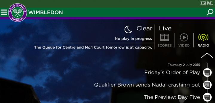 Imagen - Cómo seguir el Wimbledon en directo desde tu Android